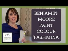 Benjamin Moore Paint Colour Pashmina - Interior Design - YouTube                                                                                                                                                                                 More Benjamin Moore Pashmina, Benjamin Moore Paint, Paint Colours, Colors, Old Home Remodel, Painting Tips, Color Palettes, Guest Room, Home Improvement