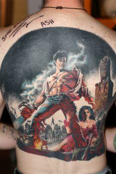 Army of Darkness masterpiece tattoo