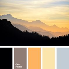 black, bright orange, cocoa, coffee, color of an orange sunset, gray, rich yellow, shades of orange, shades of sunset, soft brown, the color of the setting sun, warm yellow.
