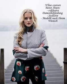 N'line couture bietet Ihnen Damenbekleidung, Stylistin oder Modell nach Ihrem Wunsch 🤩 Couture, Mantel, Designer, Clothes For Women, Fashion Design, Wish, Woman Clothing, Jackets, Woman