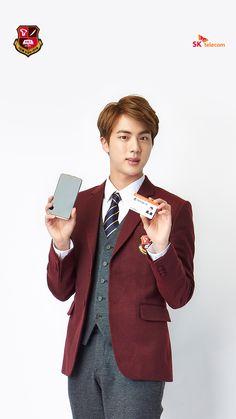 [Picture] BTS X SK Telecom Wallpaper [160302] Jin