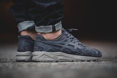 Can someone please find these for me they are called tonal suede asics gel kayano trainer concrete grey Sneakers Mode, Running Sneakers, Running Shoes For Men, Casual Sneakers, Sneakers Fashion, Mens Running, Sneakers Design, Grey Sneakers, Dope Fashion