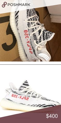 bbc43a506 Yeezy 350 V2 Zebra Brand new never worn adidas Shoes Sneakers Yeezy 350