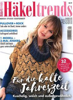 Crochet Books, Knit Crochet, Crochet Hats, Bolero Crochet, Knitting Magazine, Crochet Magazine, Pullover Rock, Fall Knitting, 257