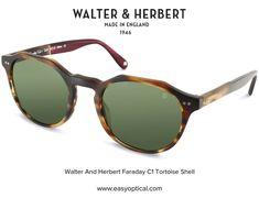 Walter and Herbert Faraday Tortoise Shell Sunglasses, Shells, Conch Shells, Seashells, Sea Shells, Snail, Clam Shells, Shell