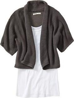 Open-Front Shrug Sweater Old Navy Shining Amor $26.94