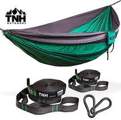 premium camping hammock  u0026 bonus straps by tnh outdoors   premium quality hammock   best hammock camping clark jungle hammock   makers of ultralight camping hammocks for      rh   pinterest