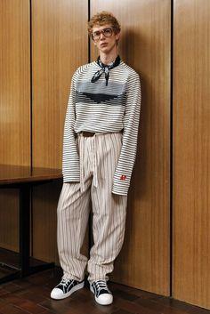 xxl sleeve - Andrea Pompilio Spring 2017 Menswear Fashion Show Runway Fashion, Fashion Show, Mens Fashion, Fashion Tips, Fashion Design, Fashion Trends, High Fashion, Der Gentleman, Gentlemans Club