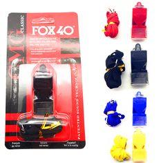 Edcgear fox40笛プラスチックキツネ40サッカーサッカーバスケットボールホッケー野球スポーツ審判ホイッスルサバイバル屋外
