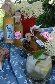 Apetyczna babeczka: Syrop z kwiatów dzikiego bzu