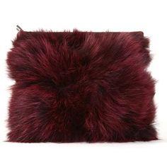 Fur+Pillow+Clutch
