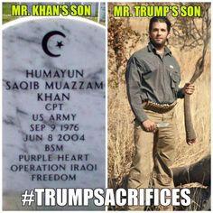 Funny Donald Trump Memes and Viral Images: Trump Sacrifices