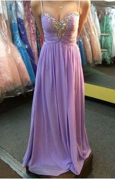 Charming Prom Dress,Spaghetti straps,V neck , Long Prom Dresses, Long Evening Dress , Evening Gowns,new fashion by prom dresses, $163.00 USD