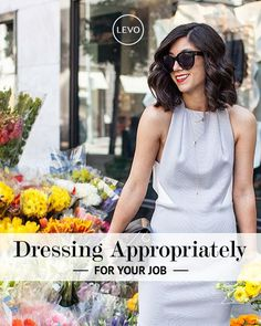 Appropriate Dress for work | #professional #style #levostyle