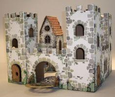 DIY Cardboard Castle $29.99