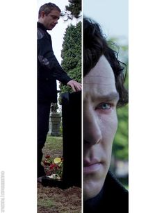 One more miracle. I don't think I ever realized Sherlock was crying. Ouch.