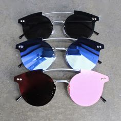 spitfire - tri hop sunglasses (more colors) - shophearts - 1