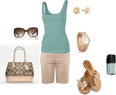 Summer Look, created by katejang on Polyvore