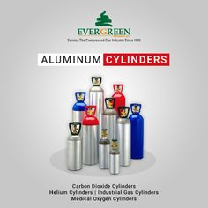 The #aluminum cylinders are available on our website store gases from #Catalina #Cylinder leading manufacturing company with the latest alloy technology, seal design, high-strength coatings and bearing..