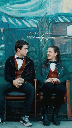 Wallpapper Clannah (Clay Jensen and Hannah Baker) 13 reasons why