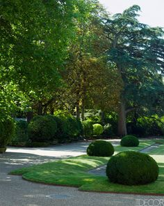 September 2013 Restored to Glory: Louis Benech Landscape Design- French Chateau Gardens