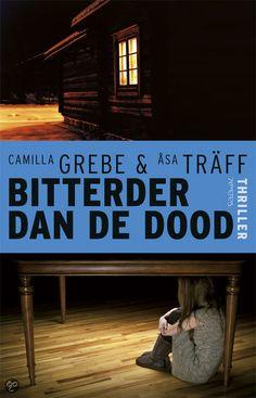 24. Gelezen mei 2014, 3* : Tip van Brigitte: Bitterder dan de dood van Camilla Grebe en  Åsa Träff - 2e boek (*) Minder dan hun debuut, maar evengoed leuk om te lezen.