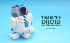 Artisan Bricks by Jeffrey Kong - LEGO R2-D2 - Star Wars Episode VII The Force Awakens
