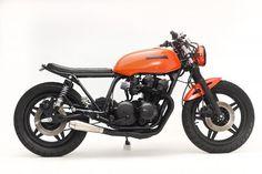 """Honda CB 750 1980 """"Midnight"""" by Steel Bent Customs"""