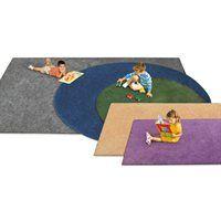 Rectangular Carpet - Charcoal - 4' X 6'