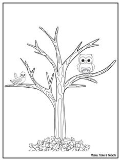 Free downloadable coloring page. Perfect for fall.
