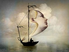 """""""Homeward bound"""" by Catrin Welz-Stein, Kuala Lumpur // Digital artwork // Imagekind.com -- Buy stunning, museum-quality fine art prints, framed prints, and canvas prints directly from independent working artists and photographers."""