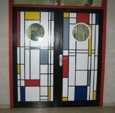 Piet Mondrian inspiration