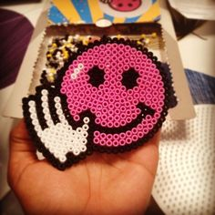 Smiley hama beads by jo_03y
