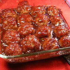 Bonnie's Crock Pot Meat Balls Recipe | Key Ingredient