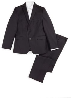Boy's Tallia Wool Suit Teen Guy, Boys Suits, Wool Suit, Best Brand, Big Boys, Trousers, Nordstrom, Vest, Guys