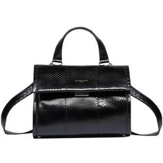 Balenciaga Tools Python Satchel S (€3.375) ❤ liked on Polyvore featuring bags, handbags, black, shoulder handbags, satchel shoulder bag, satchel bag, python handbags and satchel purses