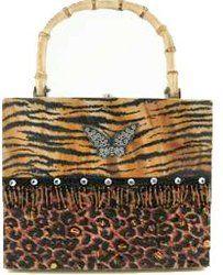.Animal Print Bag.            t
