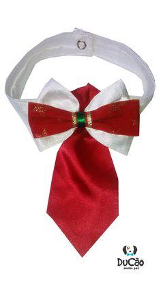 Peças feitas com muito carinho e dedicação. Gravatas e gravatas borboleta natalinas para seu Pet.
