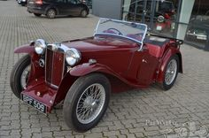 MG PB Open 4 Seater 1936.