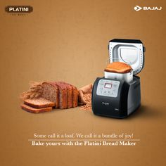 #Banana #bread, #carrot bread and many more. Wake up to the sweet aroma of freshly #baked breads made effortlessly with the #Platini Bread Maker. Visit http://bit.ly/Platini_BreadMaker to #DoMore.