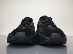 separation shoes cde83 026ae Adidas Yeezy Wave Runner 700 B75576 Triple Black Real Boost for Sale4 Triple  Black, New