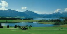 On the Romantic Road, you'll drive alongside clear lakes and rivers, rolling hills, and evergreen forests until you reach the majestic Alps of Germany.