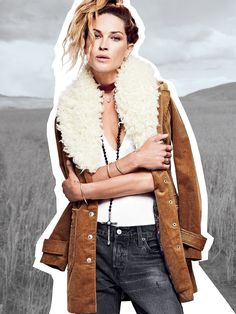 Lady Lane Fur Collar Jacket   Retro-inspired corduroy jacket with a detachable faux fur collar and pretty printed lining. Exposed snap button closures down the front and on the sleeves. Cute side pocket details. Decorative back belt accent.