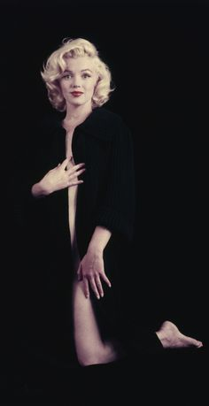 Marilyn, photographed by Milton Greene
