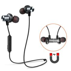 a8f19b773fc Cheap Bluetooth Earbuds, Tesson Wireless Magnetic Headphones Super Bass  Stereo Noise Cancelling Earphones, Sweat proof Comfortable , Secure Fit for  Sports ...