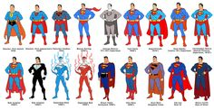75 Years of Superman by Dusty Abell.