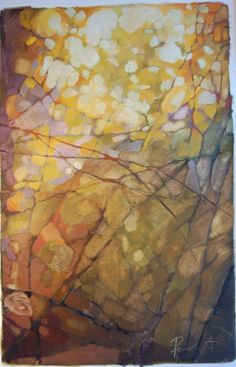 Olivia Mae Pendergast - I love this! It looks like dappled sunlight through the trees in the woods!