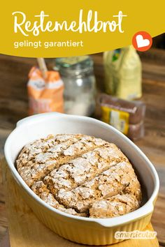 Brot aus Mehlresten backen: Grundrezept für Restemehlbrot - Atıştırmalıklar - Las recetas más prácticas y fáciles Easy Egg Breakfast, Egg Recipes For Breakfast, Healthy Dessert Recipes, Baby Food Recipes, Baking Recipes, Cake Recipes, Brunch Recipes, Drink Recipes, Desserts