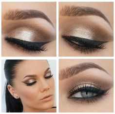 Night and day eyeshadow