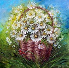 Flores silvestres. Artista Taras Pristupa .. Discusión liveinternet - Servicio de Rusia Diarios Online